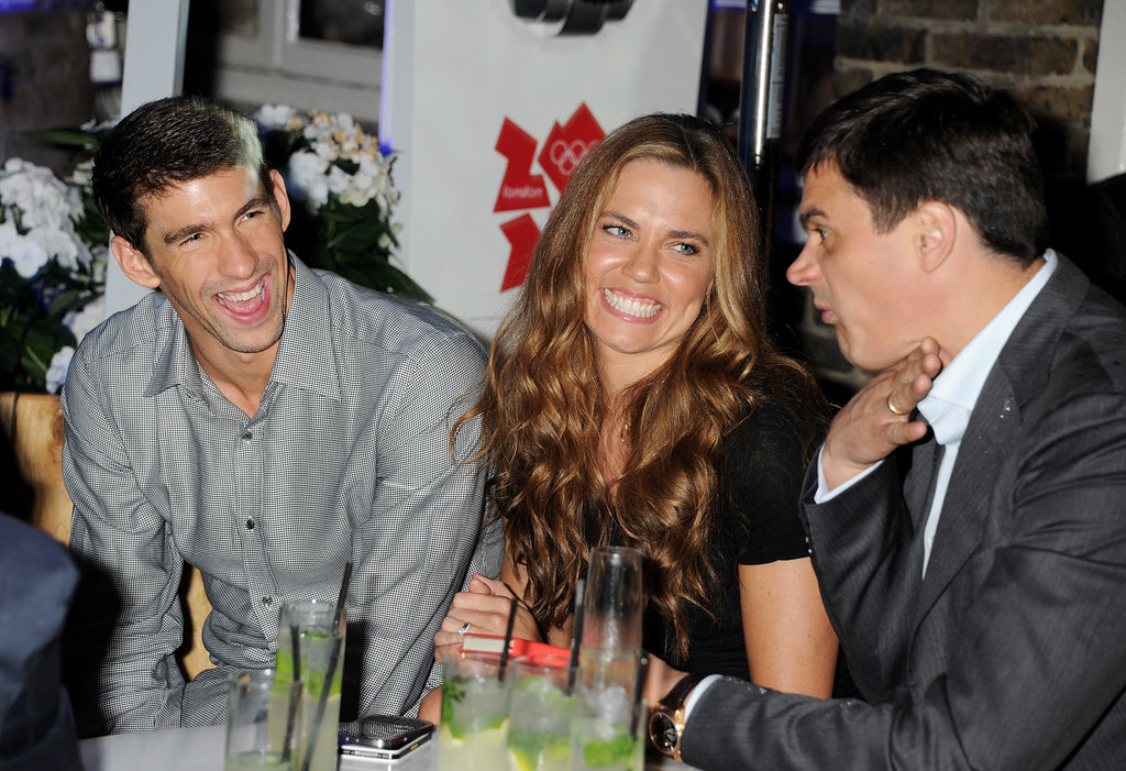 Michael Phelps joked with Natalie Coughlin and Alexander ...