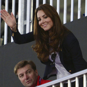 Kate Middleton Pictures Watching Women's Hockey at 2012 London Olympics