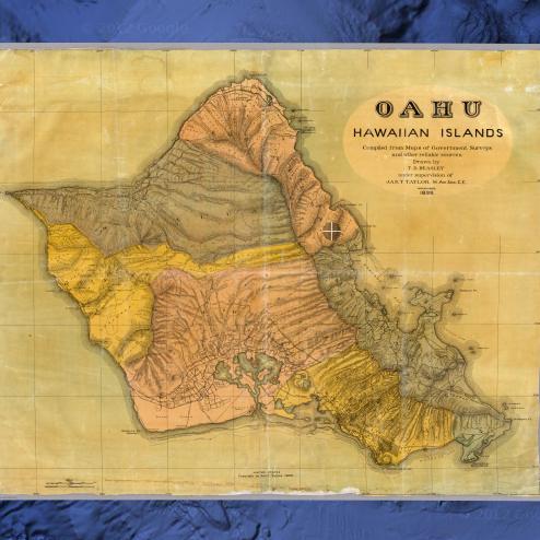 Vintage Maps App