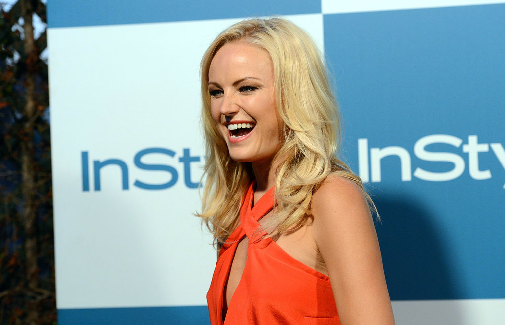 Malin Akerman was in attendance at the InStyle summer party in LA.