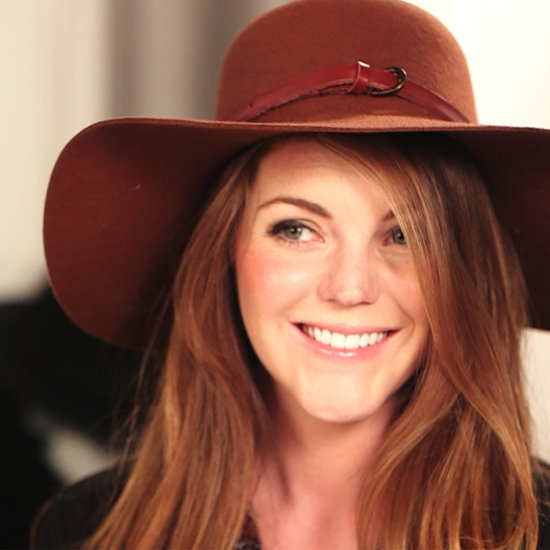 Easiest DIY Ever: Makeover Your Wide Brimmed Felt Hat With this Nifty Belt Trick! Watch Our How-To Video