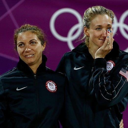 Misty May-Treanor and Kerri Walsh Olympics 2012 Interview