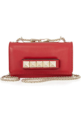 Valentino | Mini VaVaVoom leather shoulder bag | NET-A-PORTER.COM