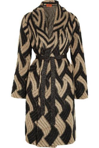 Missoni|Patterned mohair-blend cardi-coat|NET-A-PORTER.COM