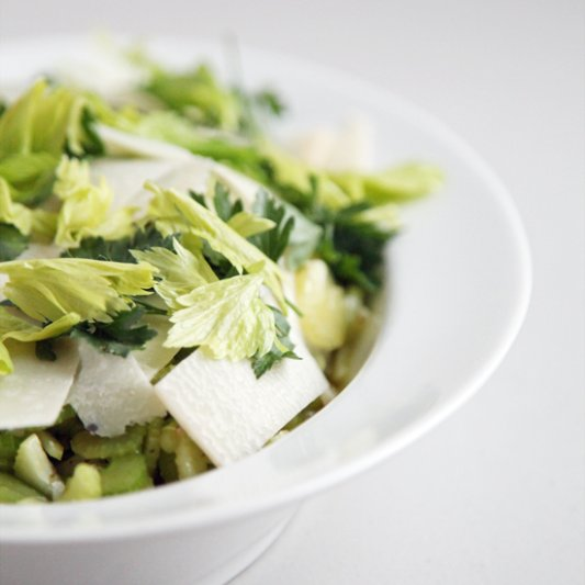 Celery and Parmesan Salad Recipe