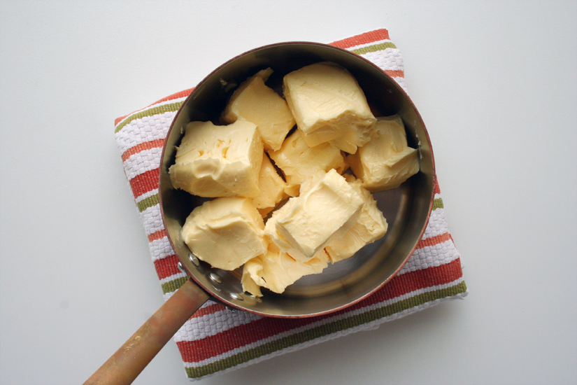 Place Butter in a Saucepan