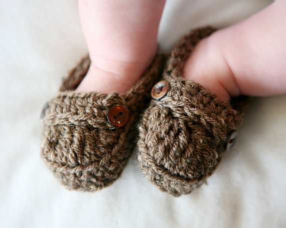 Baby Loafer Booties