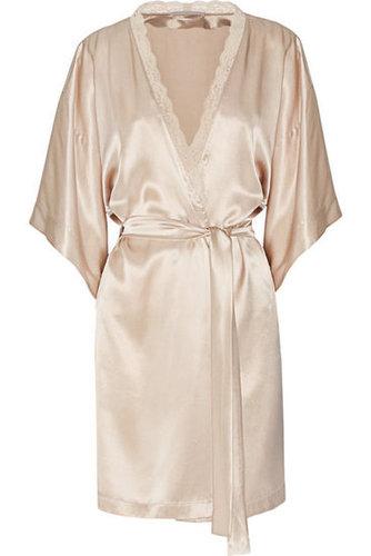 Stella McCartney|Clara Whispering silk-satin robe|NET-A-PORTER.COM