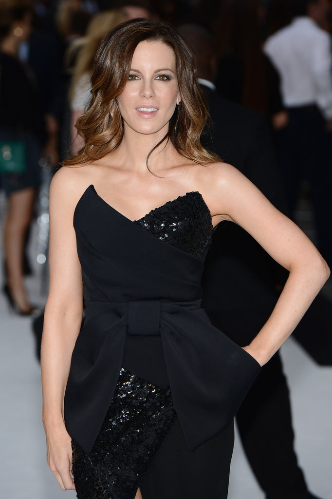 Kate Beckinsale wore minimal jewelry.