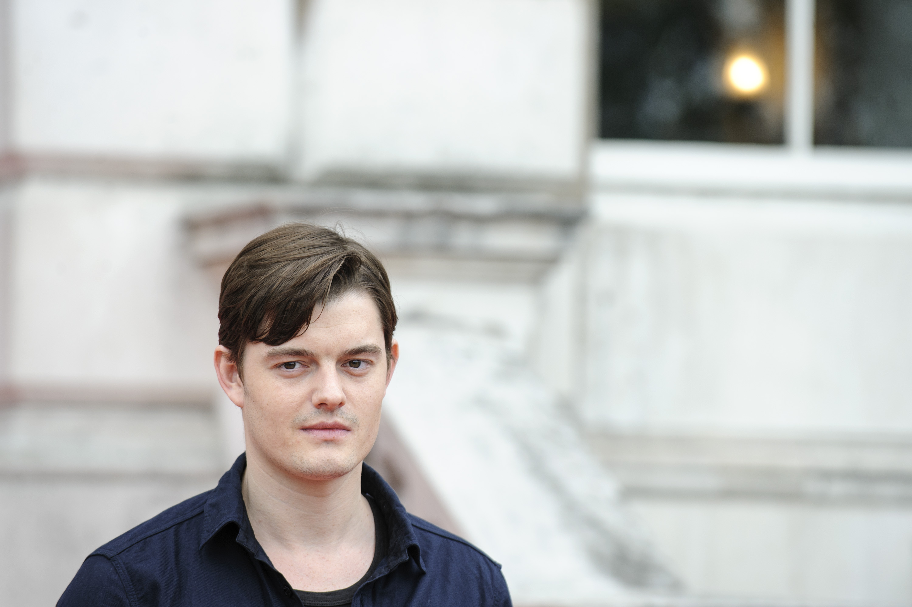 Sam Riley at the premiere of his film in London.