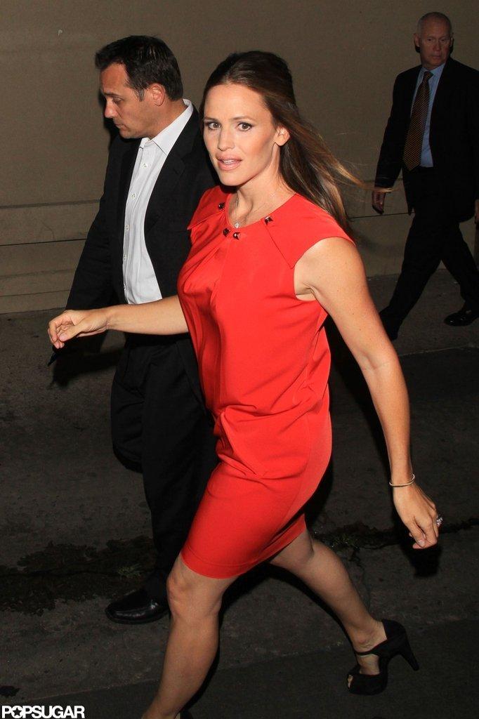 Jennifer Garner visited Jimmy Kimmel Live!