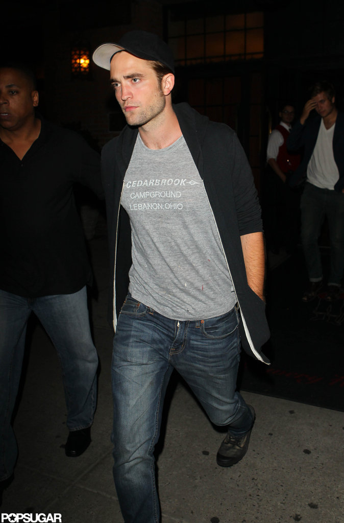 Robert Pattinson had a night on the town.