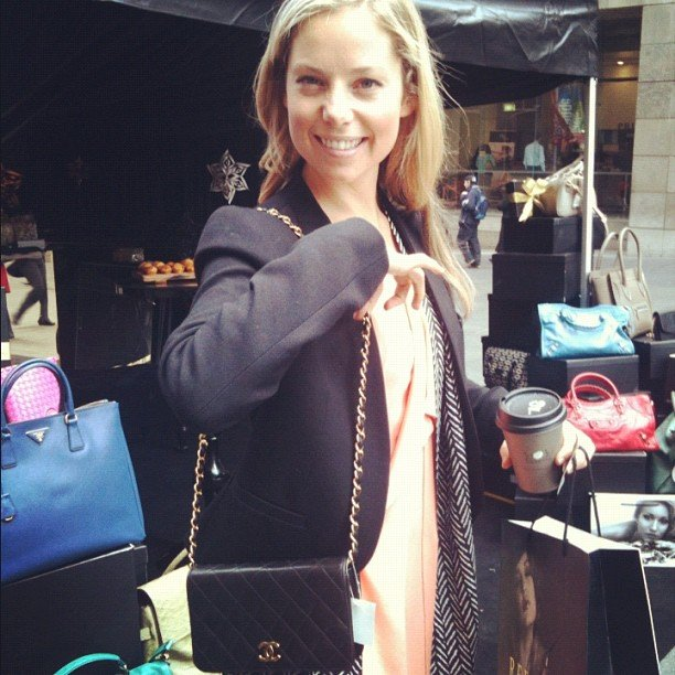 Excited, me? Ali got her hands on a Chanel bag at the Reebonz.com launch. Bookmark this site — designer labels galore!