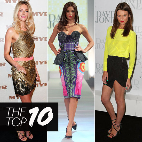 Top 10 Best Dressed of the Week: Jennifer Hawkins, Jessica Biel, Miranda Kerr & More