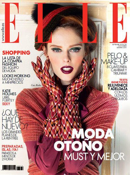 Elle Spain September 2012