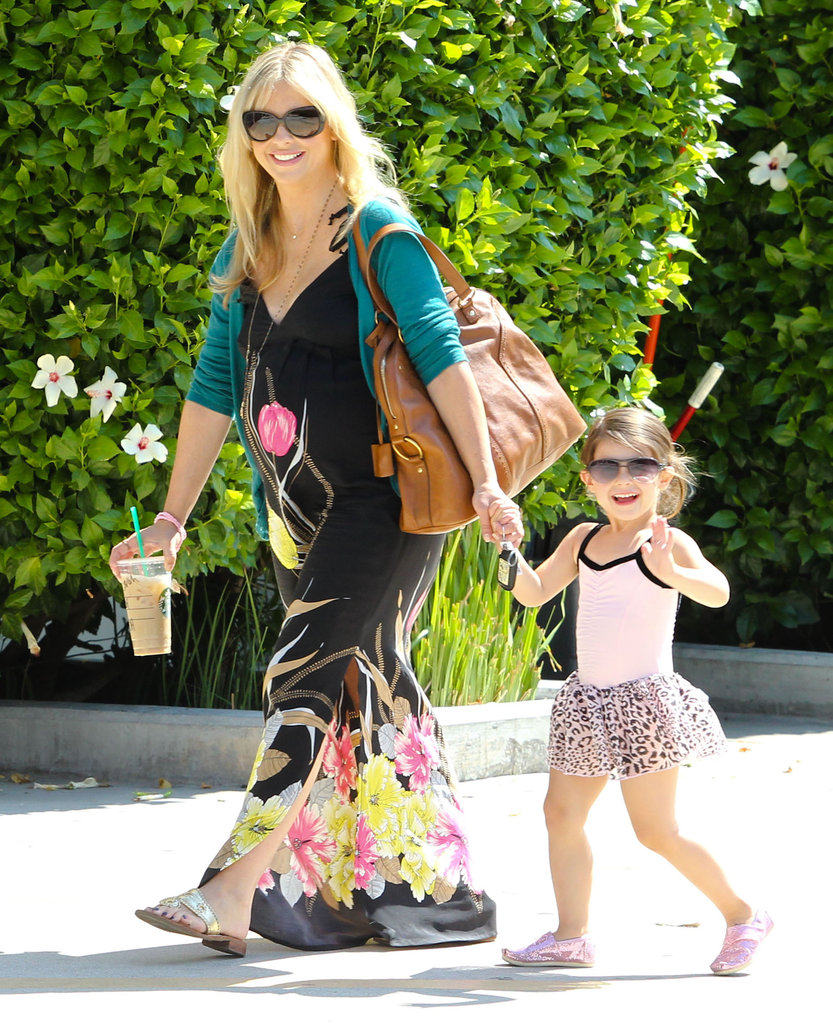 Sarah Michelle Gellar and Charlotte Prinze both wore sunglasses on the way to Charlotte's ballet class in LA.