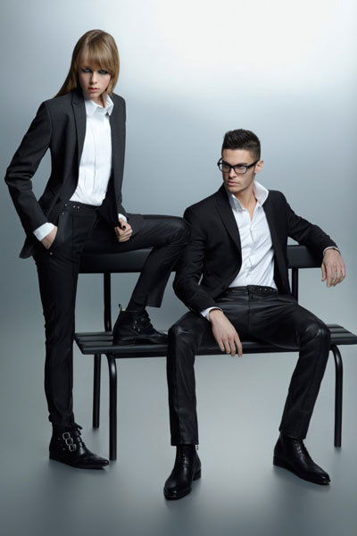 Karl Lagerfeld Fall 2012 Ad Campaign