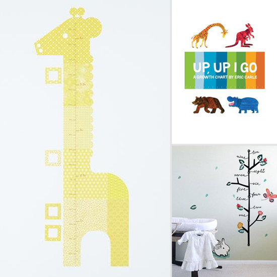 Seriously Cute Growth Charts to Track Tots' Height
