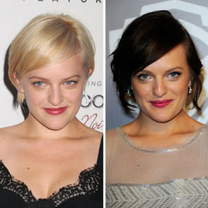 Photo of Elisabeth Moss and Her New Blonde Pixie Hair Cut