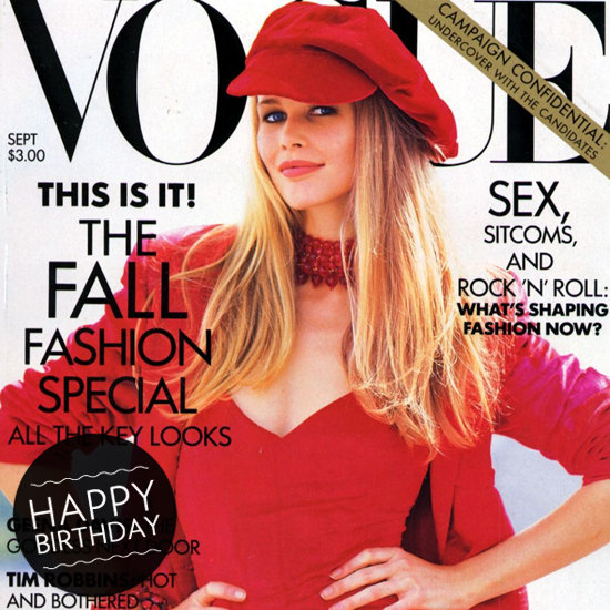 Best Claudia Schiffer Magazine Covers