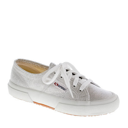 2750 Superga lamé sneakers