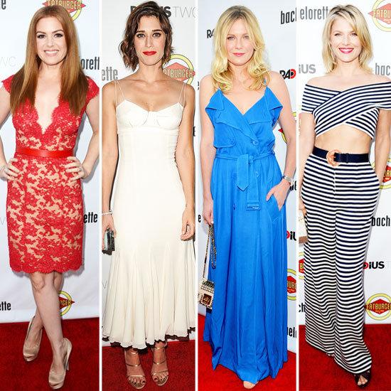 Kirsten Dunst at Bachelorette Premiere in LA