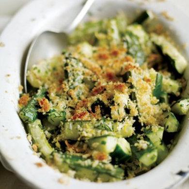 Cucumber Gratin Recipe