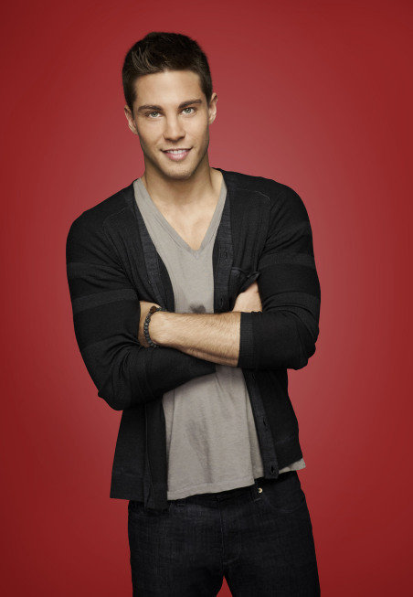 Dean Geyer as Brody on Glee.