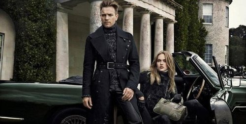 British elegance meets on-the-road cool for Belstaff Fall 2012.