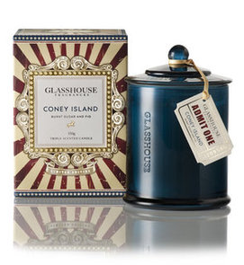 Win 1 of 5 Limited Edition Glasshouse Coney Island Candles in Our Competition Giveaway
