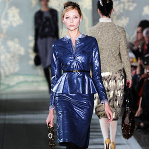 Pretty Leather Skirts and Dresses For Fall 2012