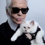Choupette on Set: Karl's Kitten Visits His Net-a-Porter Shoot