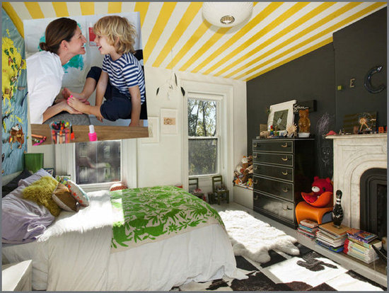 A City Circus Bedroom For Jenna Lyons's Son