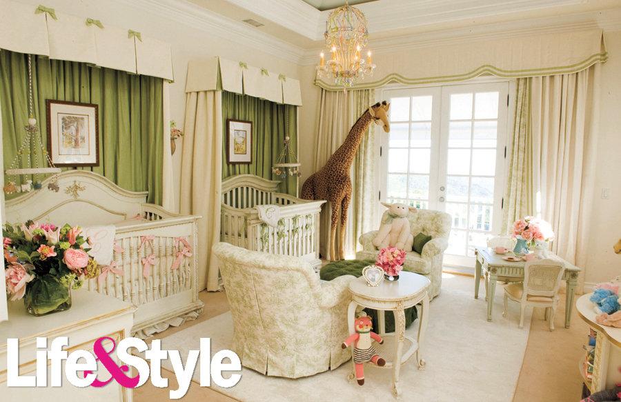 Mariah Carey's Twins' Nursery