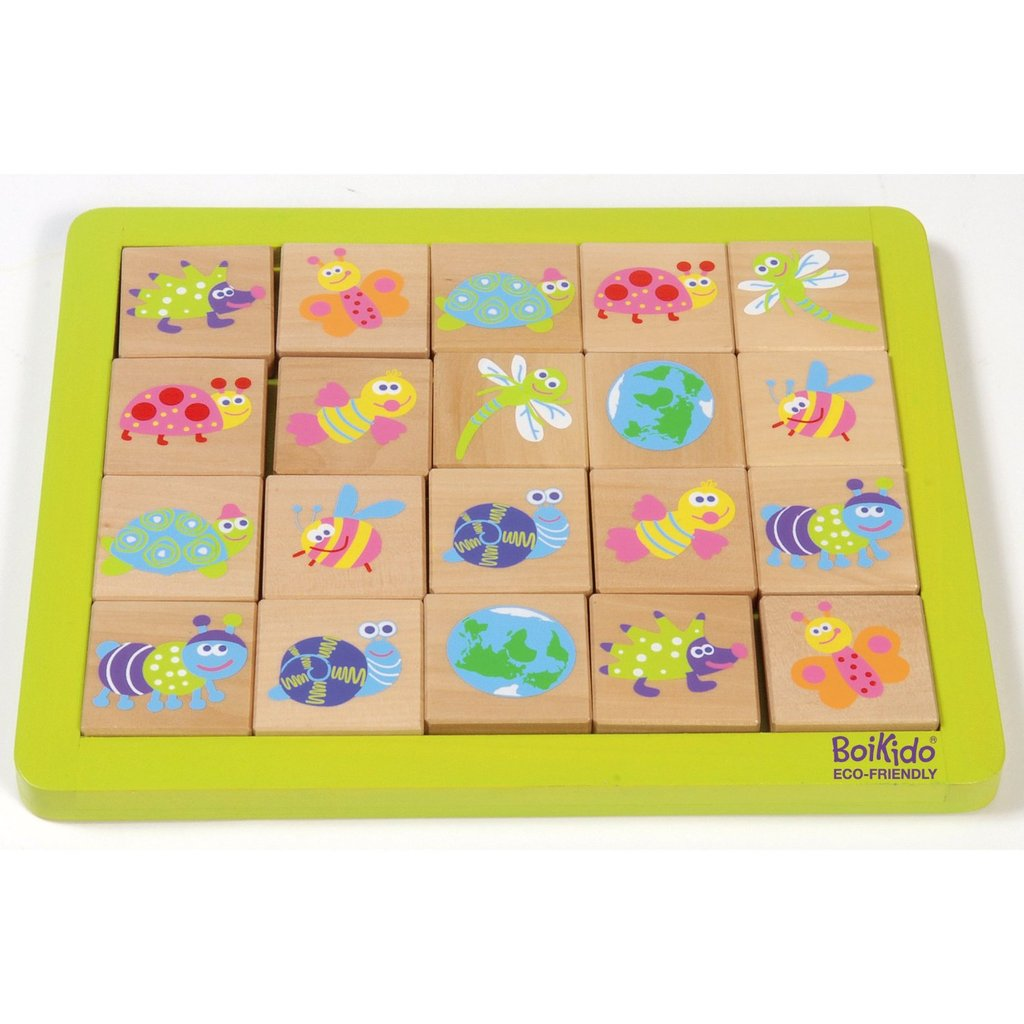 Boikido Eco-Friendly Wooden Memory Game ($25)