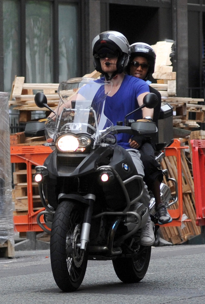 Michael Fassbender and girlfriend Nicole Beharie were together in the UK.