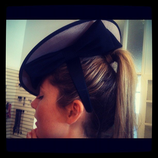 FabSugar editor Ali caught racing fever when she viewed Review's gorgeous headwear collection.