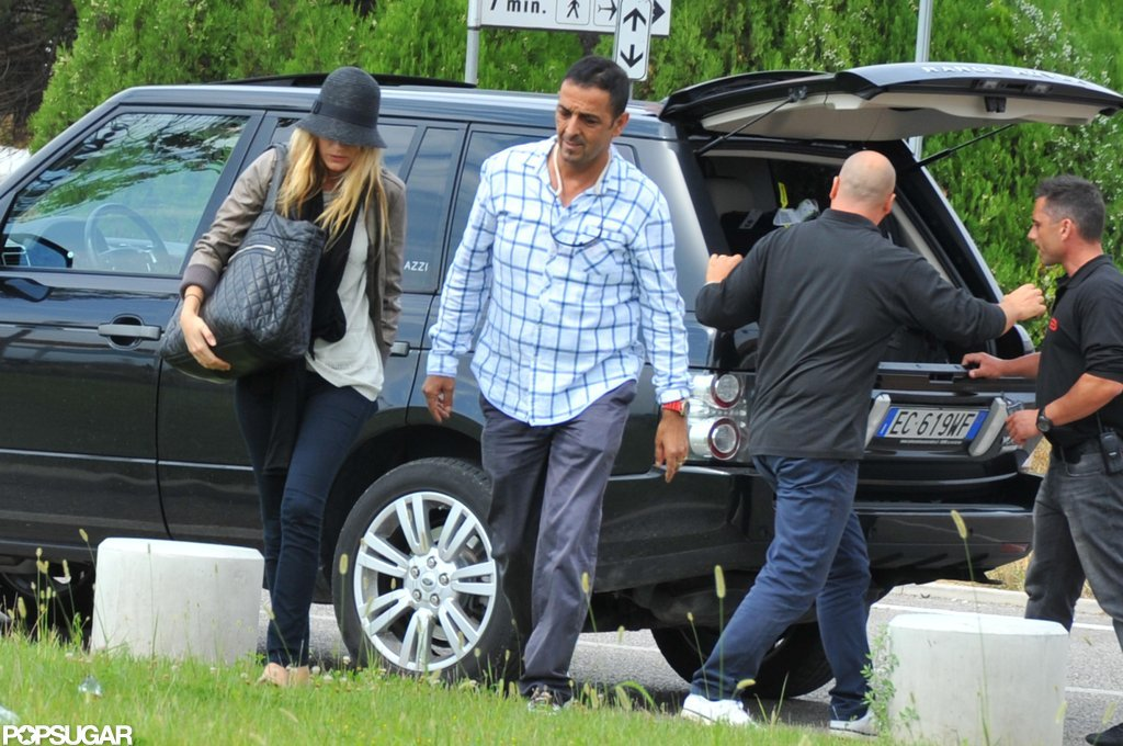 Blake Lively arrived at the Venice Film Festival.