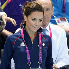 Kate Middleton at Paralympic Swimming