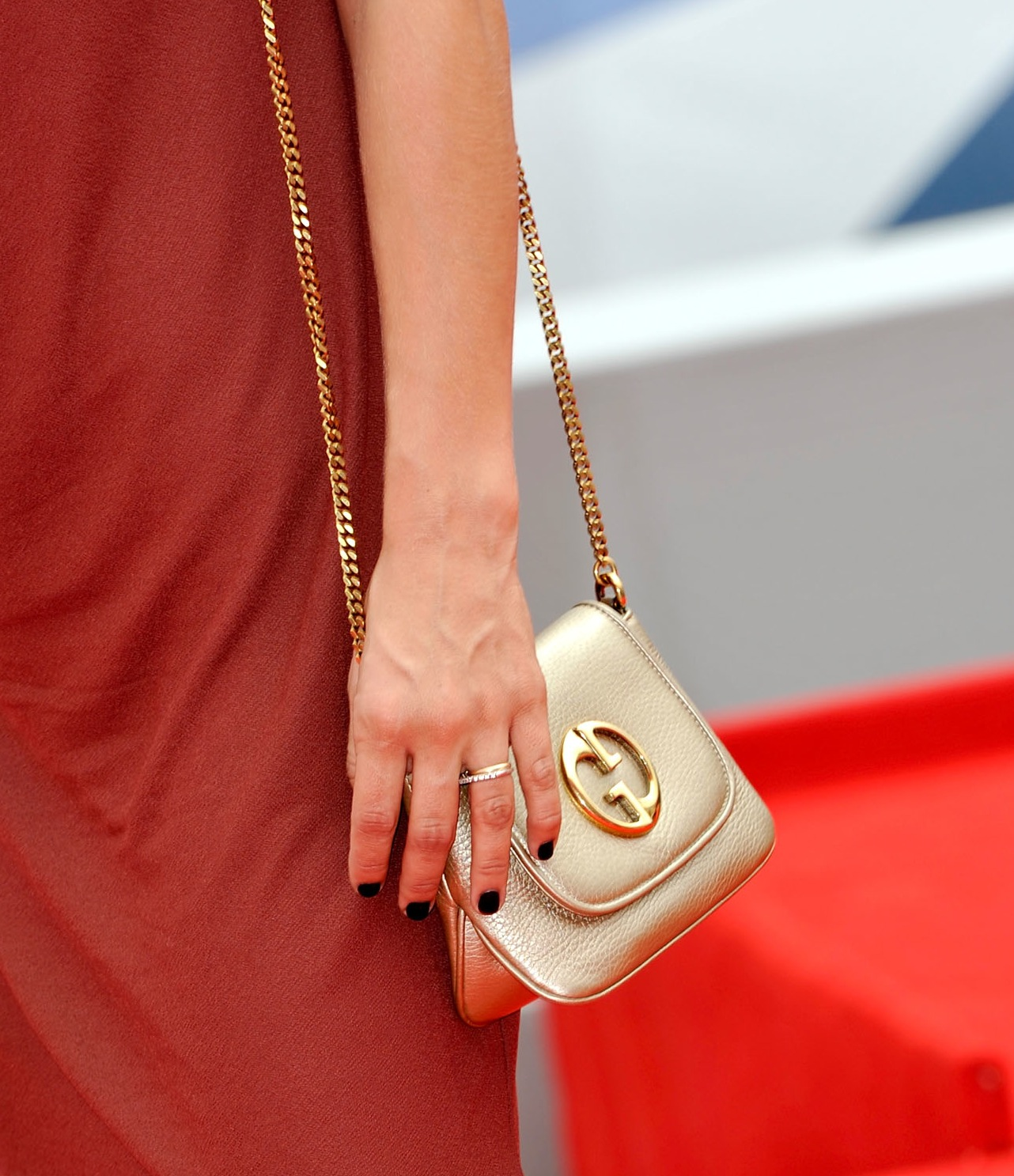 Gucci Gold Chain Her Gold Chain-strap Gucci Bag
