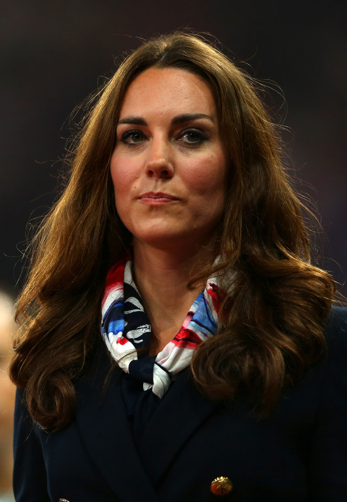 Kate Middleton presented a medal at the Paralympics.