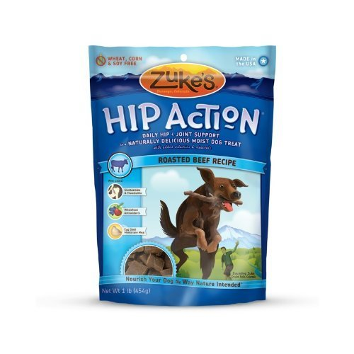 Zuke's Hip Action Daily Hip and Joint Support Treats ($9)