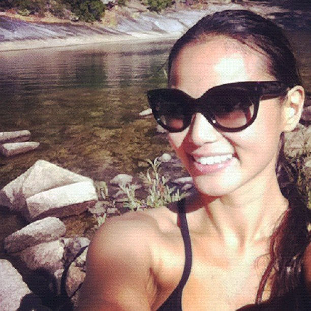 Jamie Chung spent a day in Yosemite. Source: Instagram user jjchung415