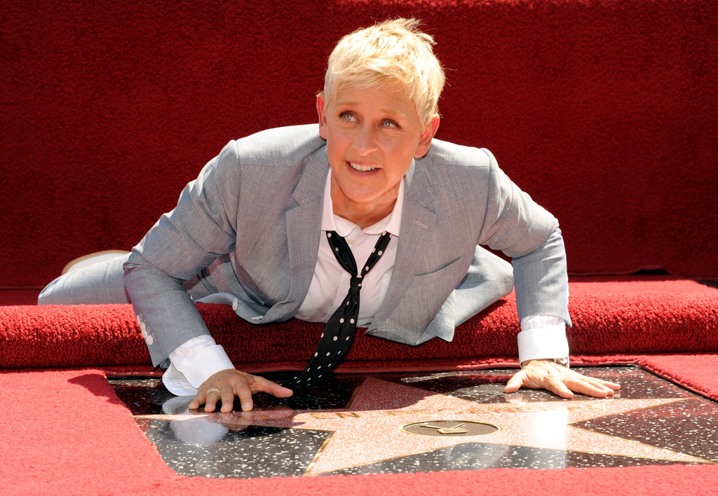 Ellen DeGeneres went face to face with her star.