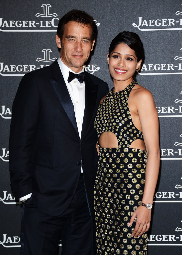 Clive Owen and Freida Pinto Team Up to Party in Venice