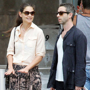 Katie Holmes With New Man in NYC   Pictures