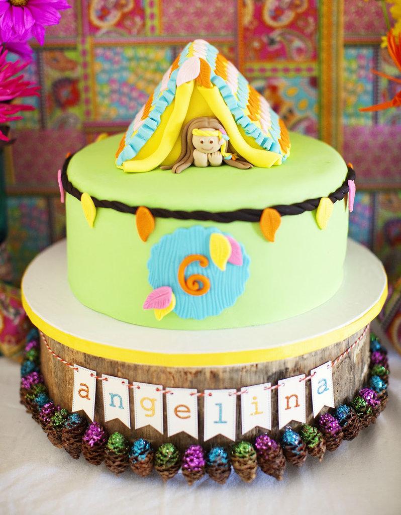 Glamping Cake