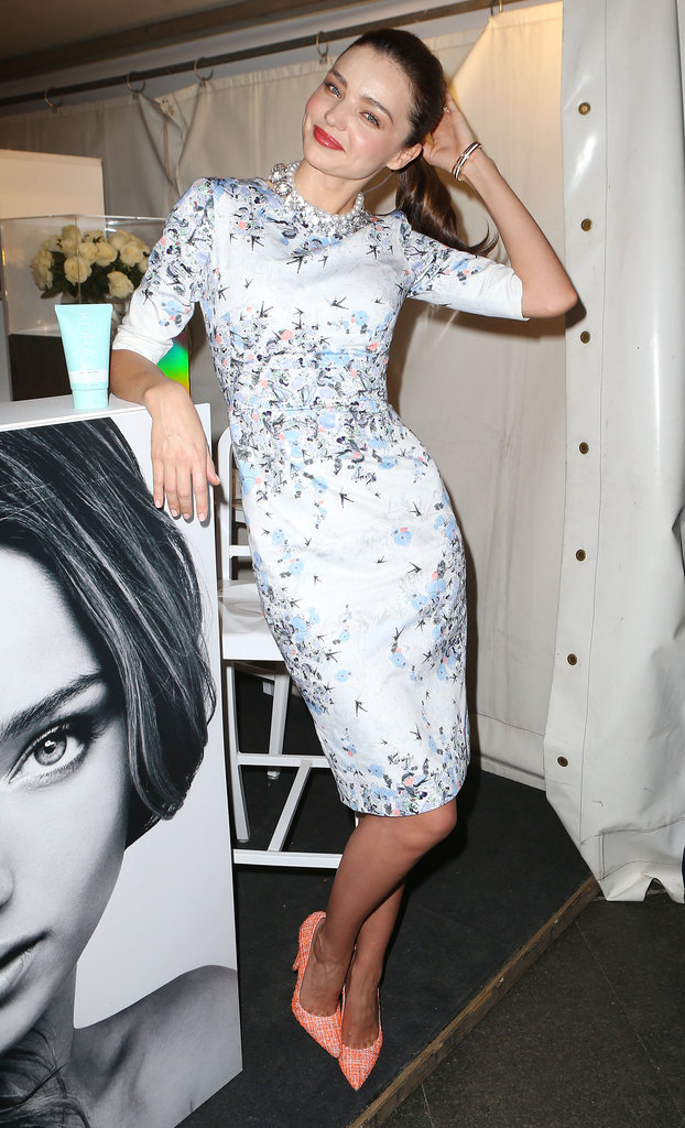 Miranda Kerr Gets the Fashion's Night Out Party Started —Early!