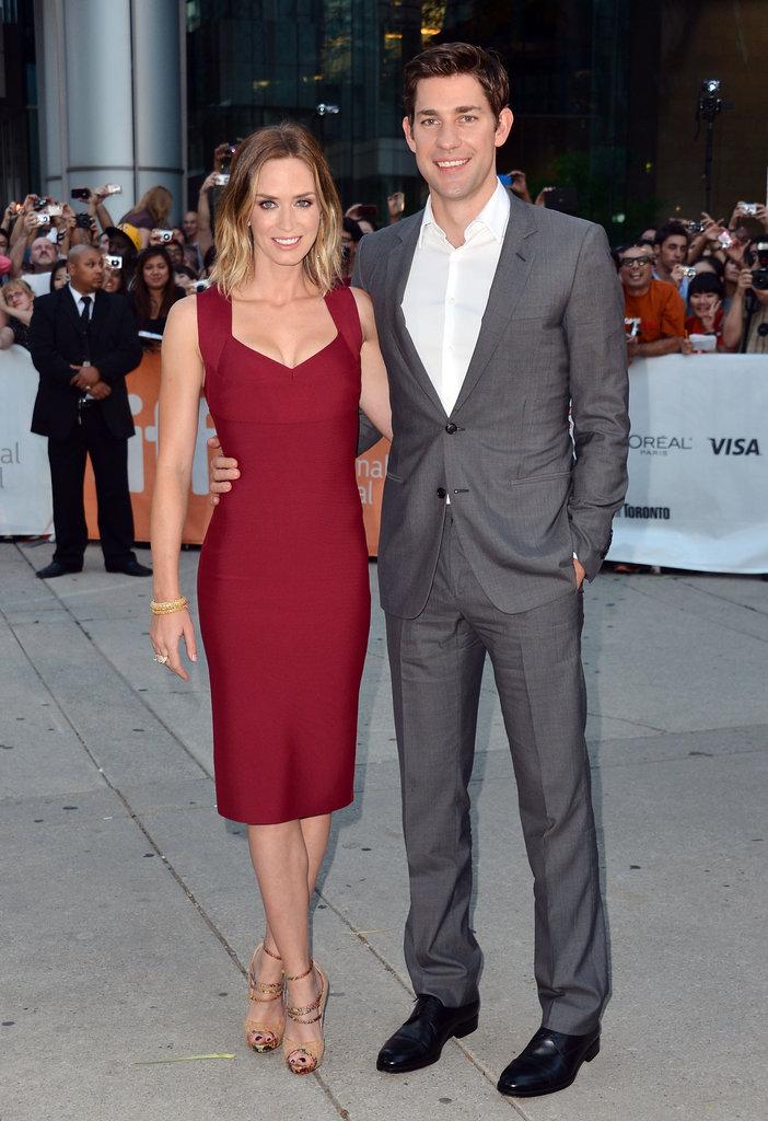 Emily Blunt at Toronto Film Festival Looper Premiere ...