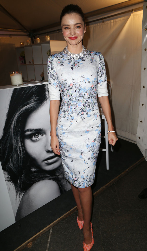 Miranda Kerr at Fashion's Night Out.